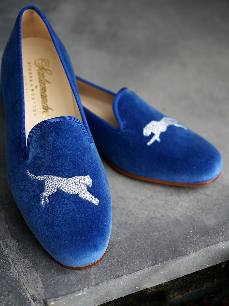 Leaping Cheetah Slippers