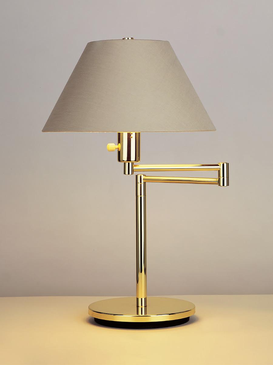 Hansen Double Swing-Arm Table Lamp