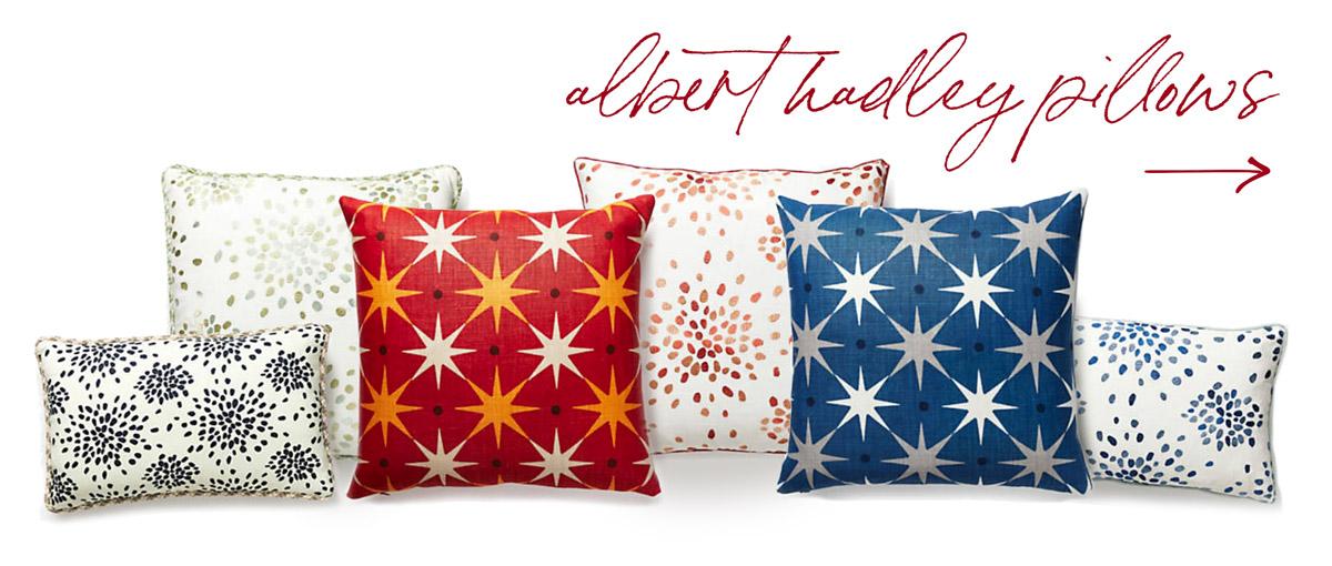 hadley pillows