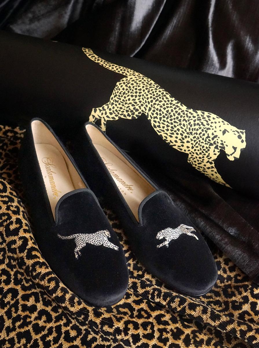 Black Magic Slippers