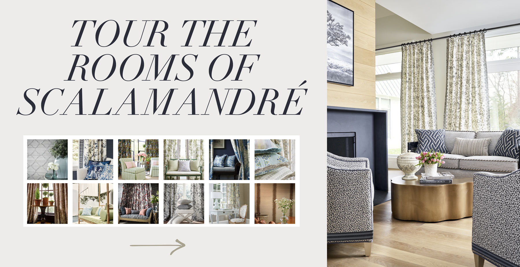 The Rooms of Scalamandre